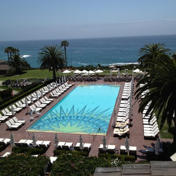 View From The Loft Restaurant At Montage Laguna Beach Hotel A