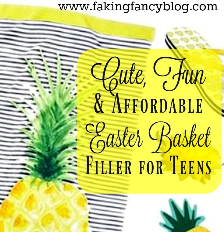 Easter basket ideas for teens easter baskets easter and basket ideas cute fun and clever ideas for teen boy and girl easter basket that are also affordable negle Image collections