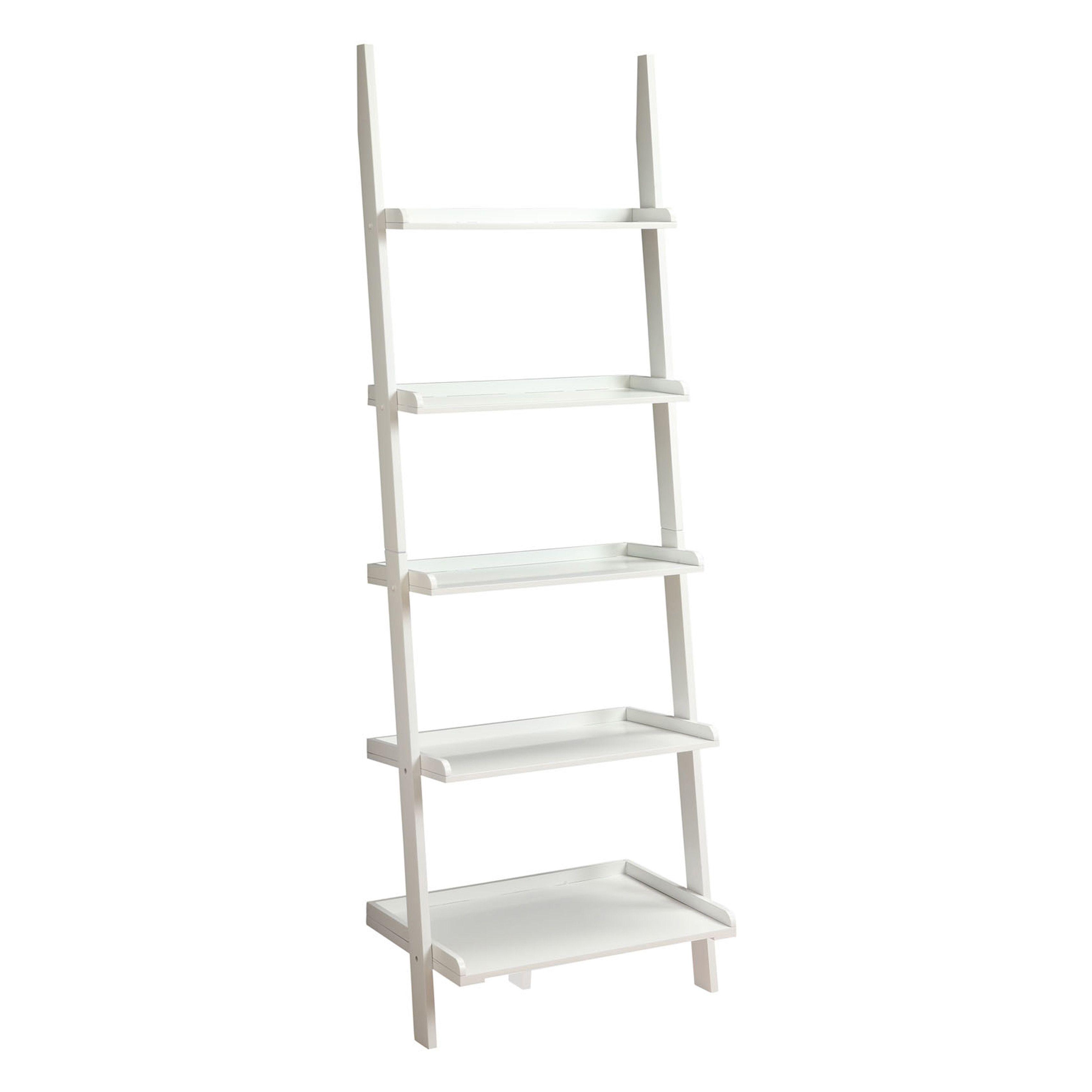 Laurel creek charley wooden bookshelf ladder blue products