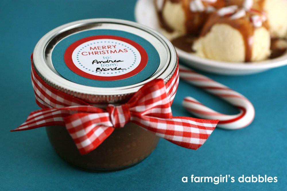 homemade fudge sauce for christmas gifts
