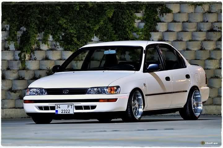 Toyota Corolla 1995 Tuning Buscar Con Google Auto Art