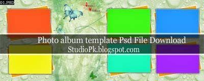 Wedding Album Design Templates Psd Free Download | Album design and ...