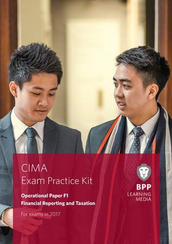 From 14 46 Cima F1 Financial Reporting And Taxation Exam Practice