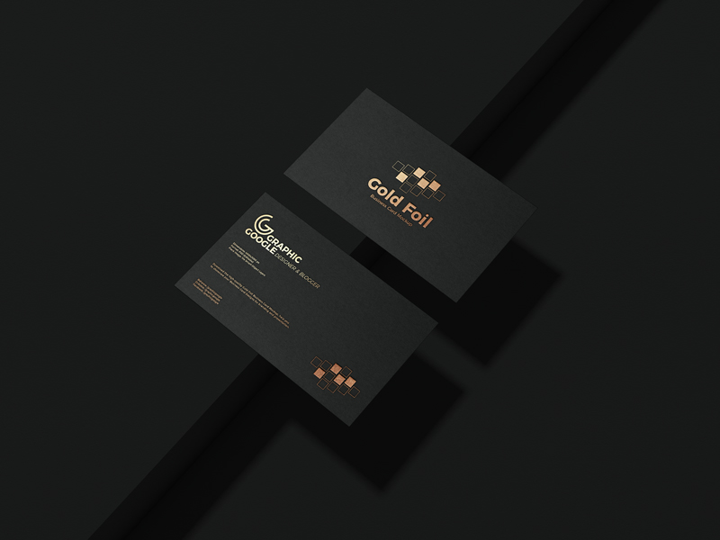 Free Gold Foil Business Card Mockup Psd Vol 2 Graphic Google Tasty Graphic Designs Collectiongraphic Google Tasty Graphic Designs Collection