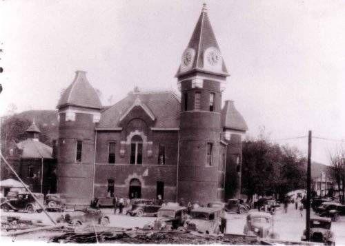 Salyersville Ky Magoffin County Courthouse 1950 My Old Kentucky Home Appalachia Magoffin County