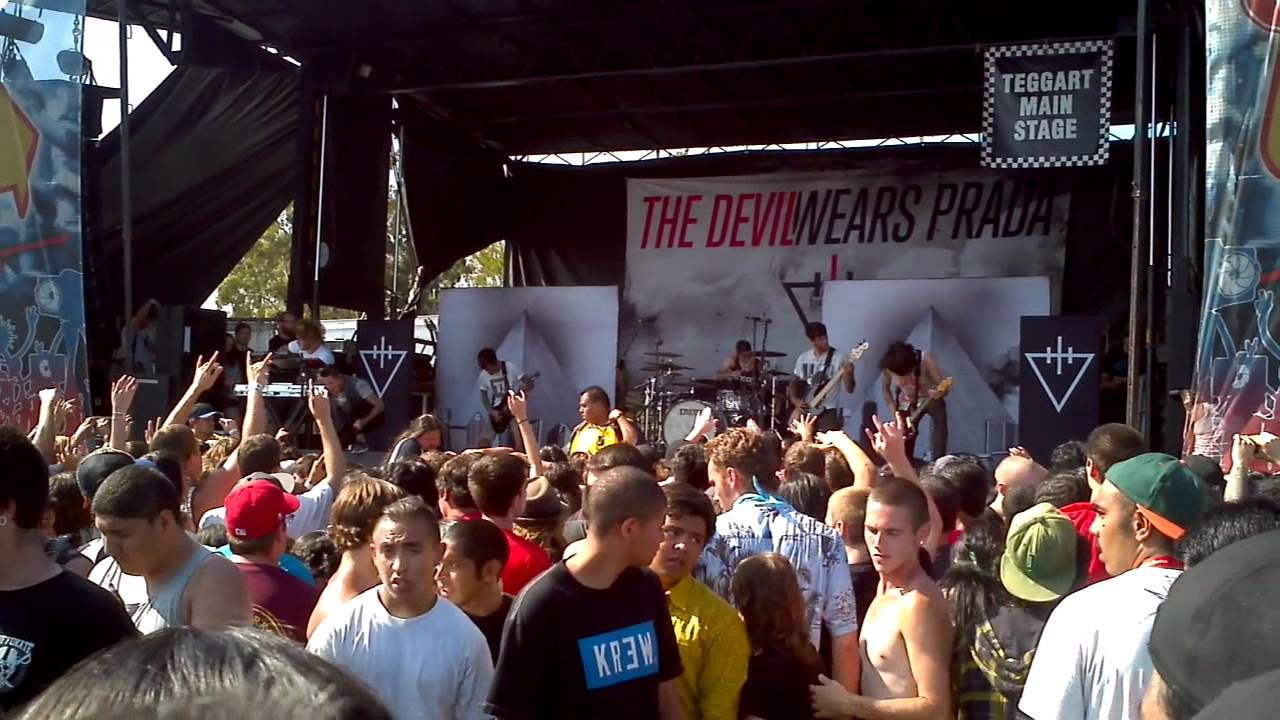 Tdwp moshpit to escape anatomy | TDWP | Pinterest | Devil wears ...