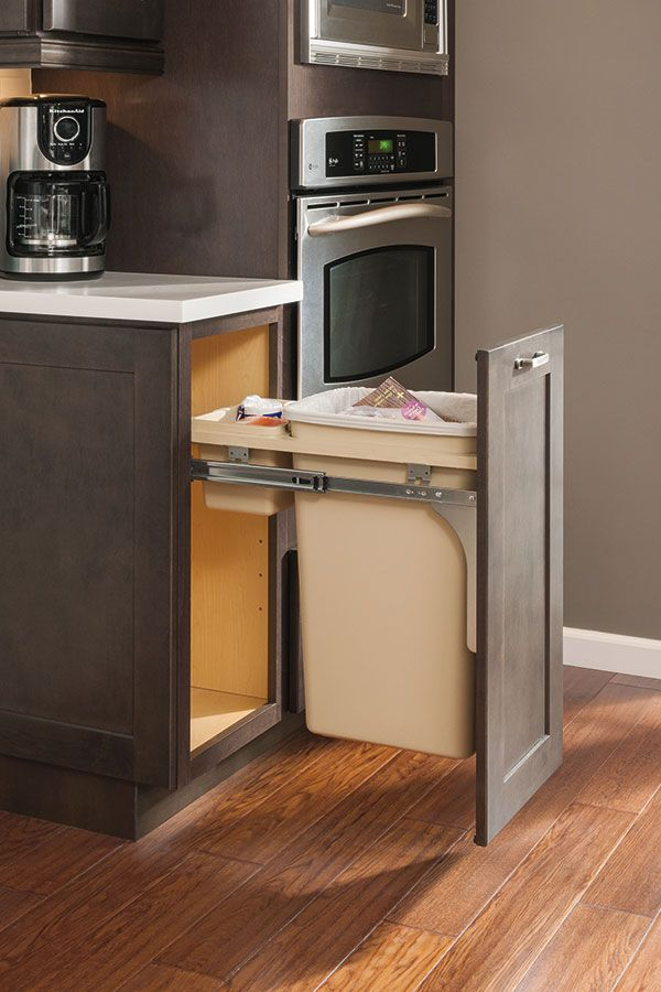 Our Base Wastebasket Cabinet Has Full Extension, Floor Mounted Guides That  Allow For Easy
