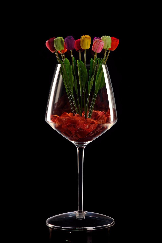 Creative fashion boutique,wow!arc red wine large,wine barrel dessert jar,bar decoration,transparent acrylic adornment