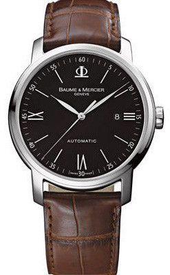 70553f90aab Baume et Mercier Watch Classima  bezel-fixed  bracelet-strap-alligator   brand-baume-et-mercier  case-depth-9-1mm  case-material-steel   case-width-42mm ...