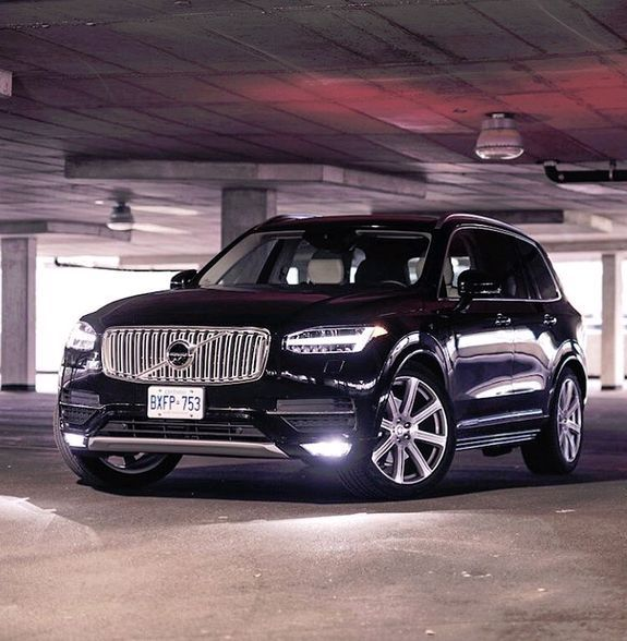 Volvo Xc60 Suv: One Of The Better Angles Of The New XC90.