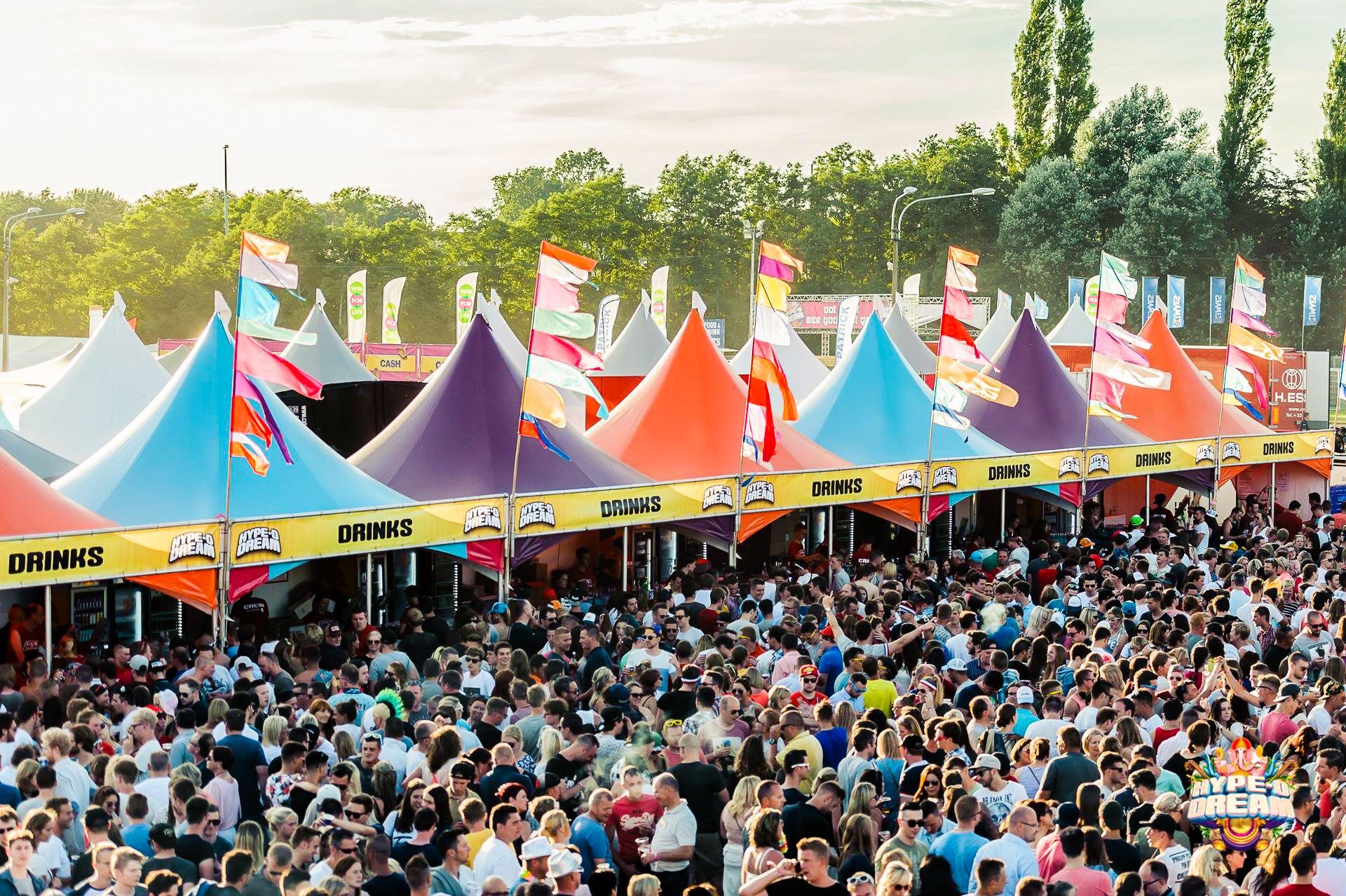 Hype O Dream Festival 2 Nice Festival Event Styling Buiten