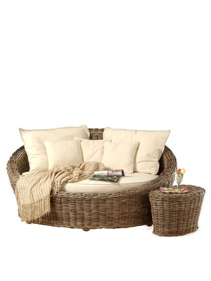 Oval Day Bed Small KG - Oatmeal by Jeffan at Gilt