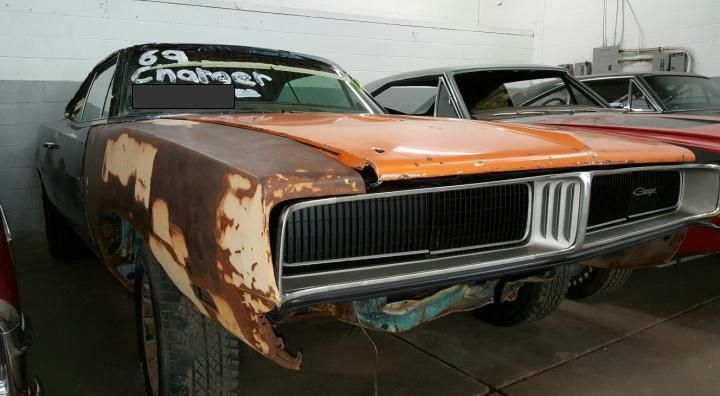 1969 Dodge Charger True 383 Big Block Car Project Cars For Sale