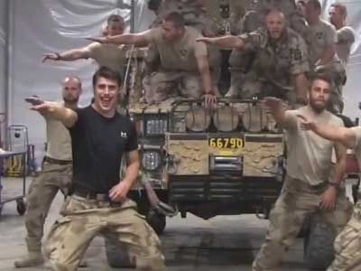 Sexy gay marines