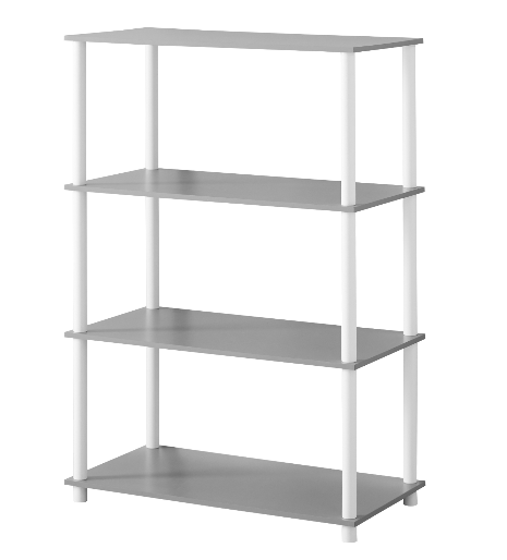 4 Shelves Bookshelf Storage Minimal Open Back Display Cube Stand Organizer New 36 45 Cube Shelves Ideas Of In 2020 Shelves Fabric Storage Cubes Ikea Cube Shelves