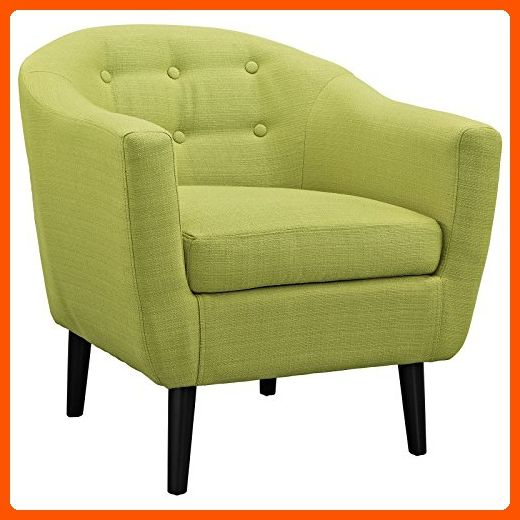 Modway Wit Armchair, Wheatgrass - Improve your home (*Amazon Partner