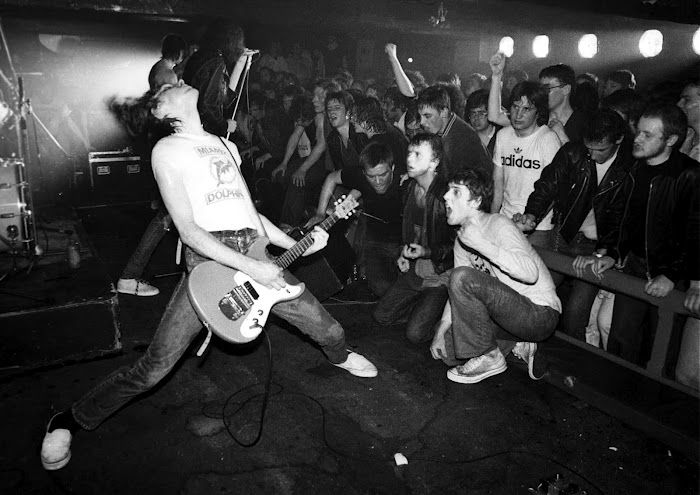 From NYPL's Blogs: New York Punk Rock: A Basic History http://www.nypl.org/blog/2014/06/06/ny-punk-rock-history#comments