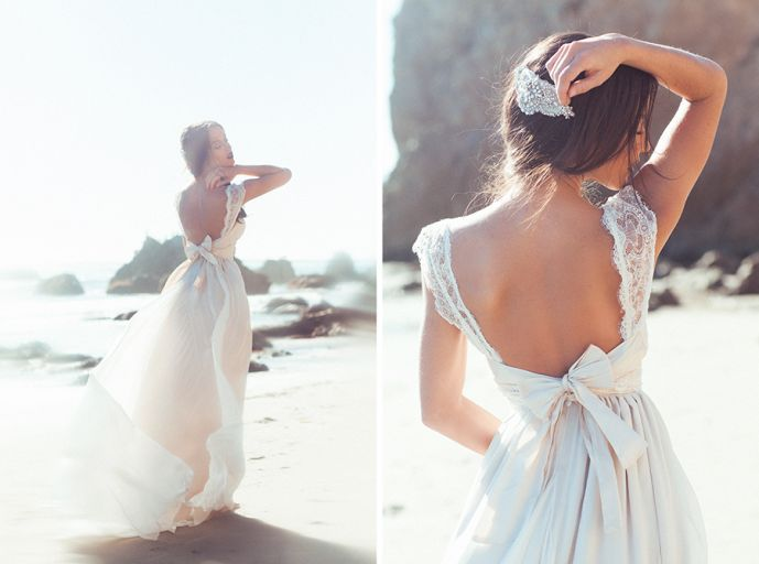 Anna Campbell dress. I JUST DIED.  Three Nails Photography  - Weddings