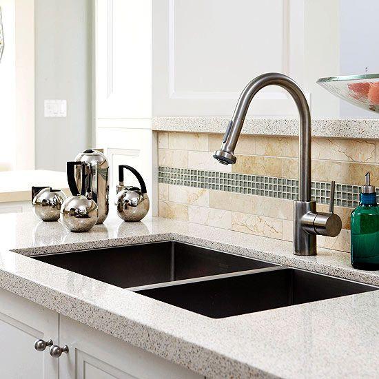 Cost Saving Tips From The Kitchen Pros Cheap Kitchen Makeover Kitchen Backsplash Kitchen Faucet