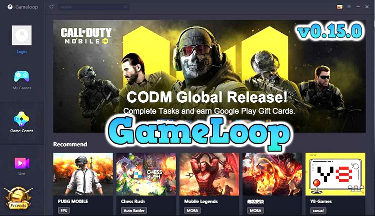 Tencent Gaming Buddy Gameloop Download [v0.3.3] Latest! | Free android  games, Google play gift card, Game download free