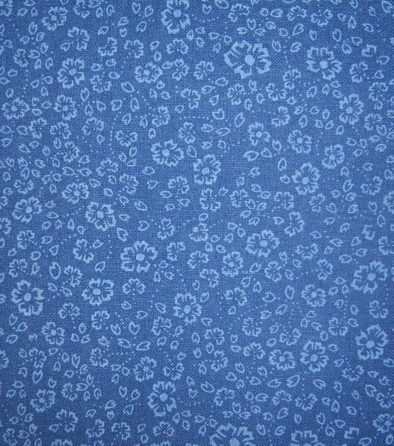 Keepsake Calico Fabric-Navy Ditsy Blender at Joann.com