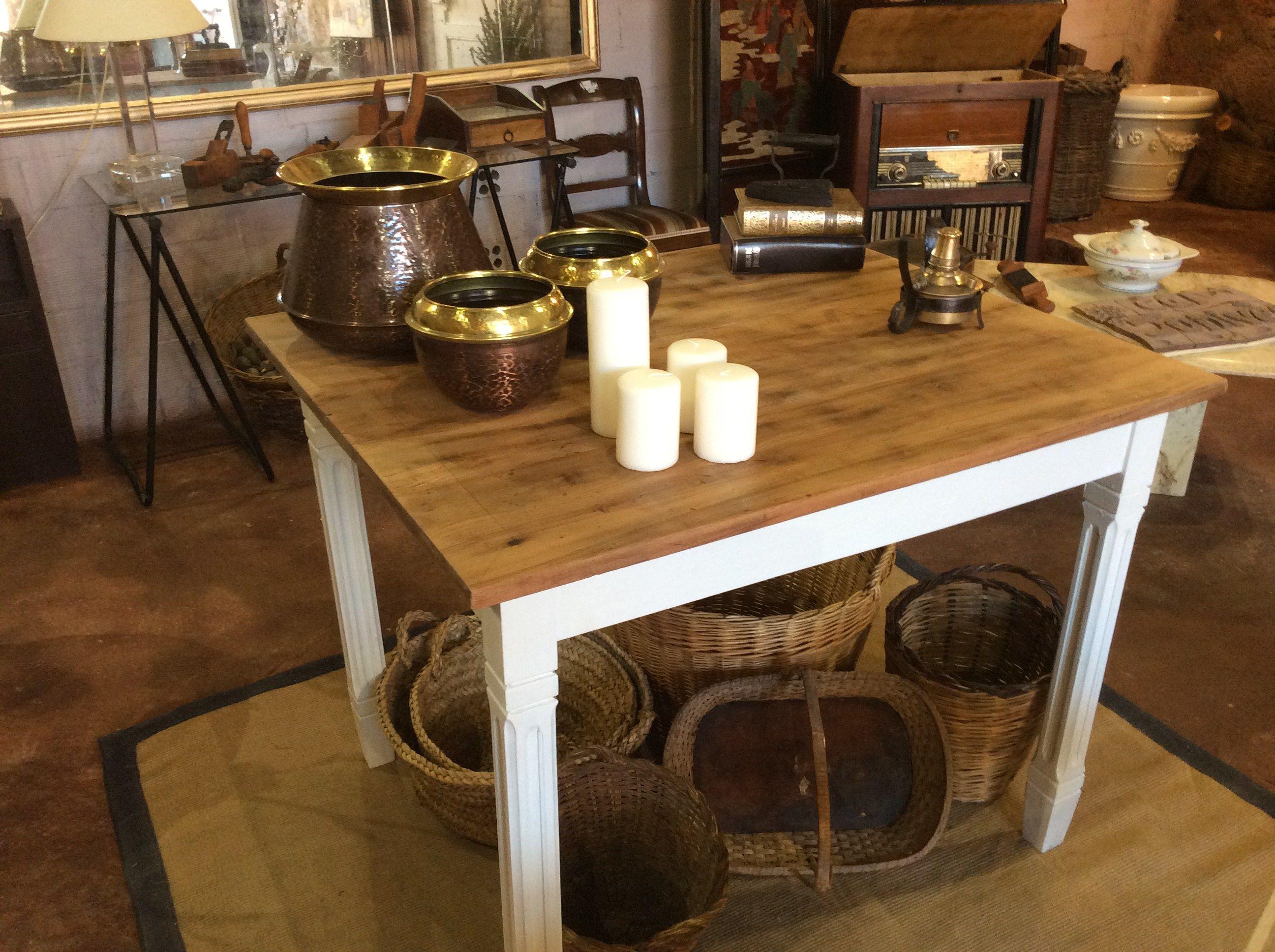 Restaurar: Mesa antigua | Detalles deco | Mesas, Mesa restaurada y ...