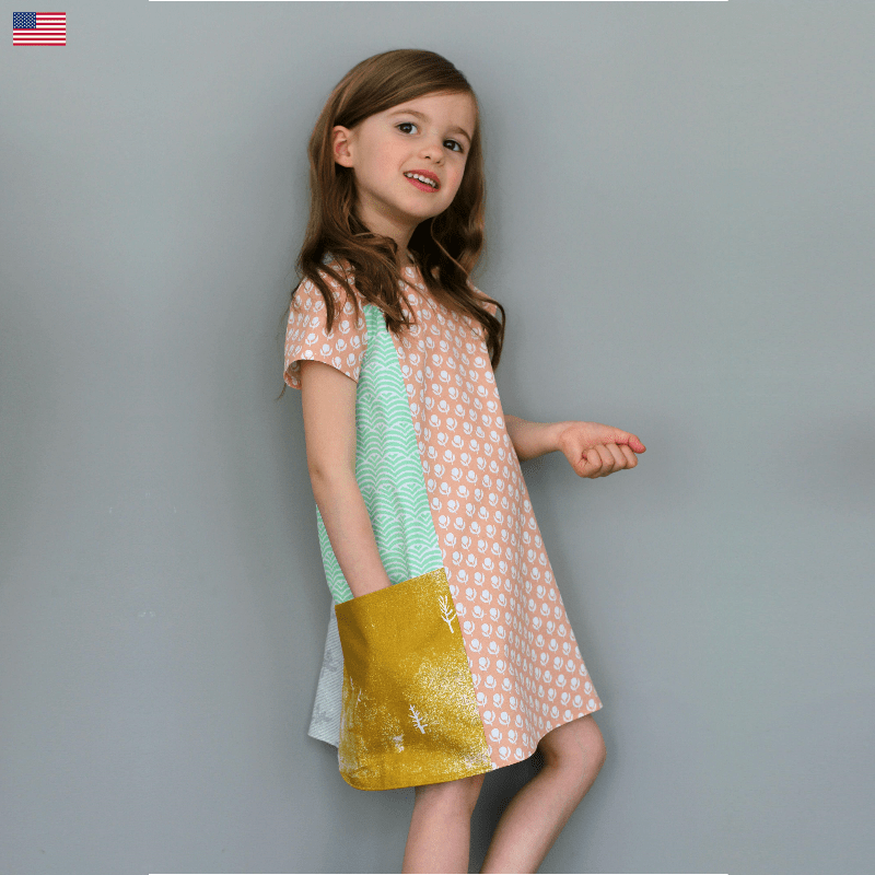 Ishi Dress English Straightgrain Girls Clothes Patterns Sewing Dresses Summer Frock Designs
