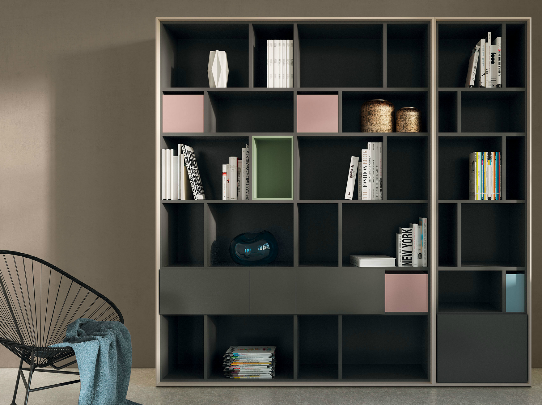 Hulsta Mobili Italia.Scopia Open Bookcase By Hulsta Werke Huls Wall Units