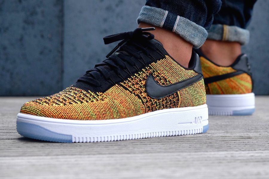 brand new d1e2f a8808 Nike Air Force 1 Low Ultra Flyknit  Autumn Orange