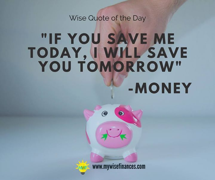 Money speaks only this language therefore one has to save