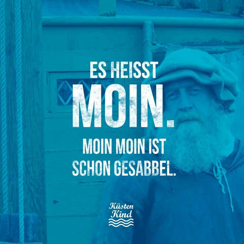 Pin von andrea auf nine to five pinterest moin zitate - Hamburg zitate ...