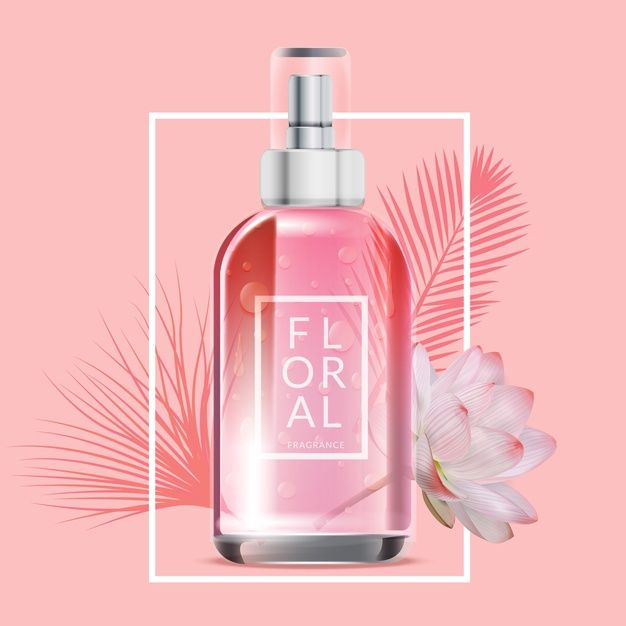 Photo of Download Floral Perfume Cosmetic Ad for free