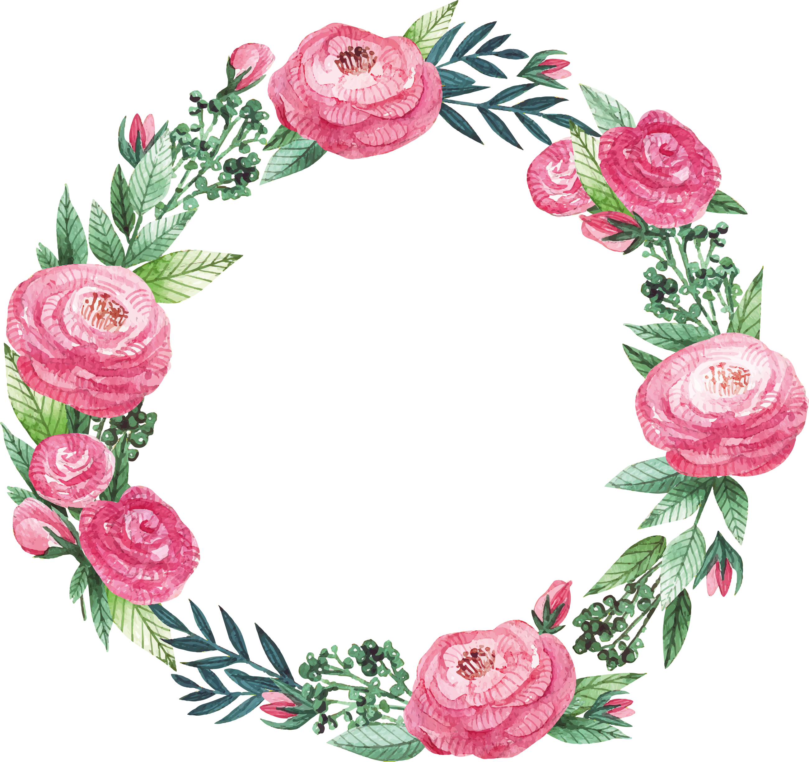 freepik com floral frame flower drawing floral wreath watercolor freepik com floral frame flower