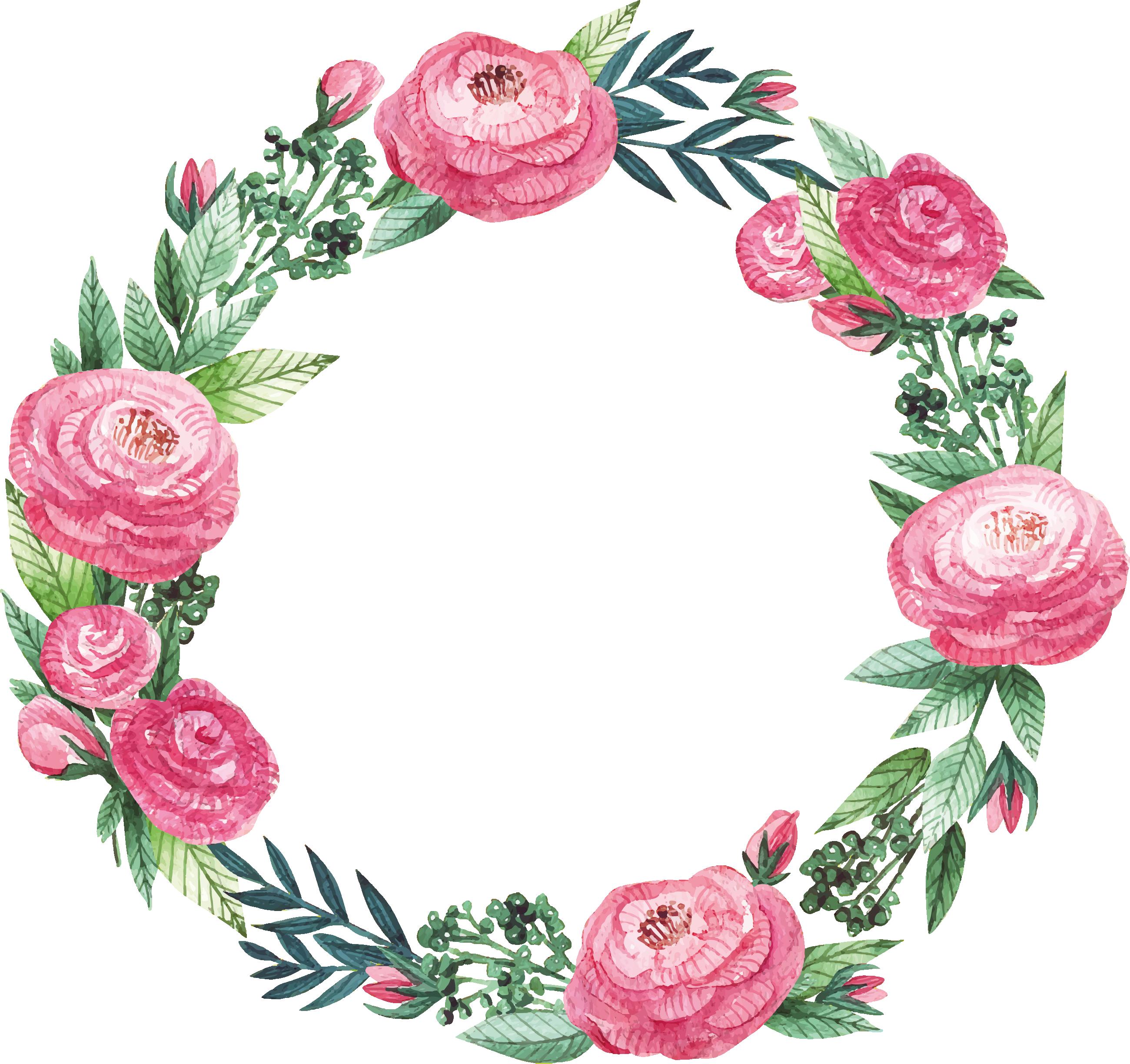 freepik Floral Frame Decoupage Flowers Pinterest