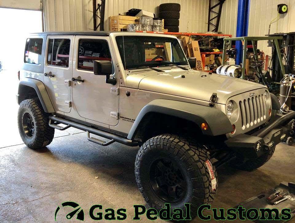Jeep With Clayton Offroad 4 5 Suspension Jeep Jeep Jku Custom