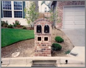 Brick Double Mailbox This Would Nicely In Our Yard But Need