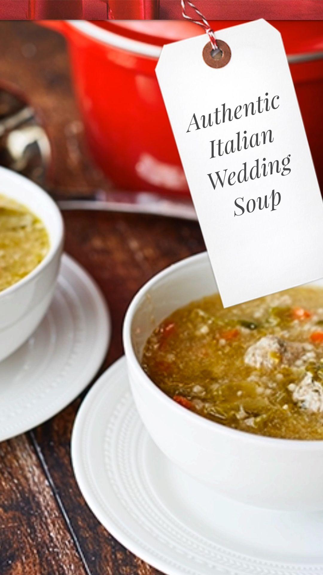 Authentic Italian Wedding Soup