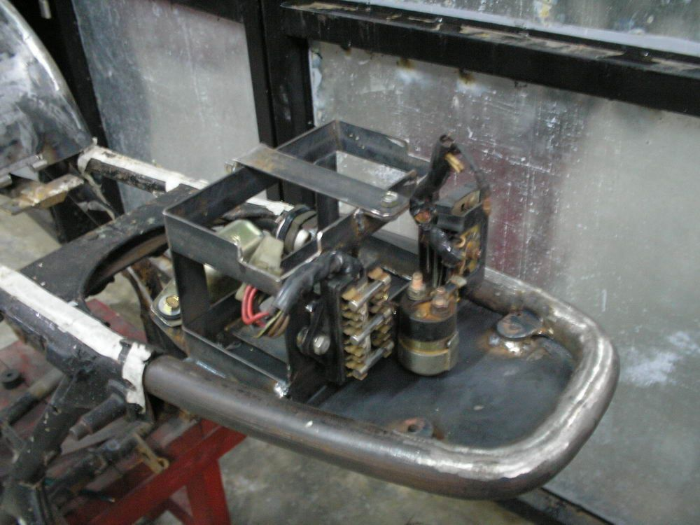 Battery Tray In Tail  280