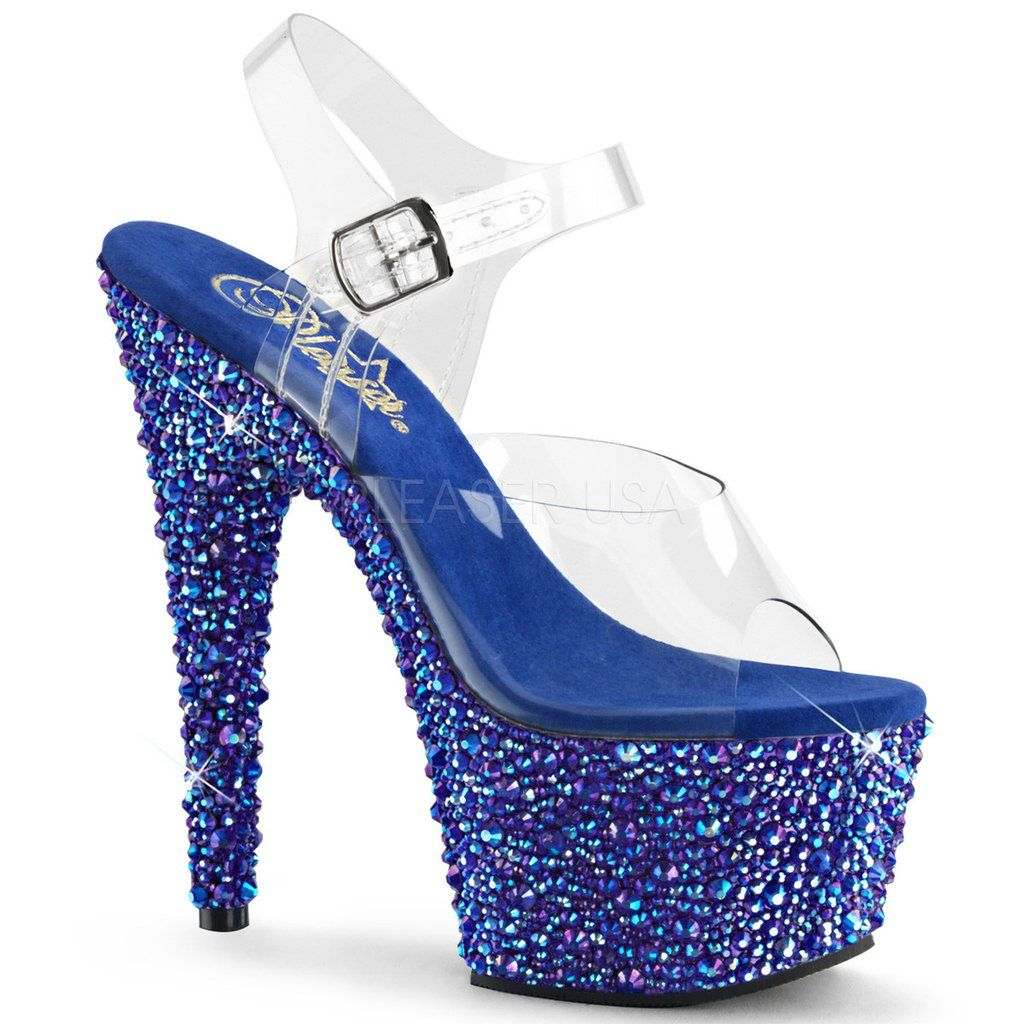 BEJEWELED-708MS Sexy Pleaser Shoes High Heels