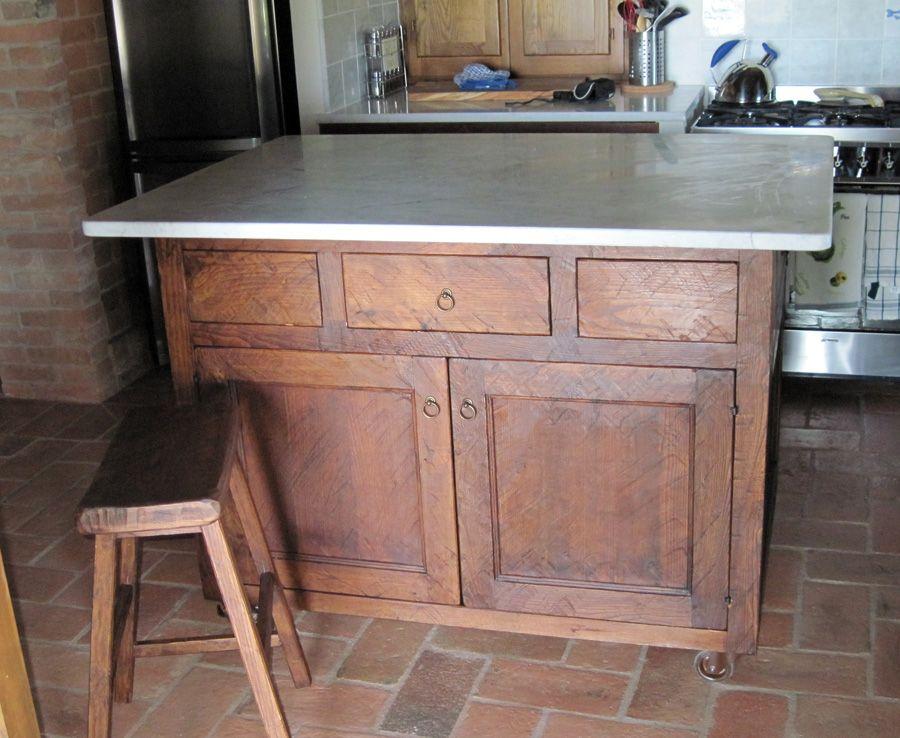 Isola per cucina aperta da tutti i lati for the home pinterest - Isola cucina fai da te ...
