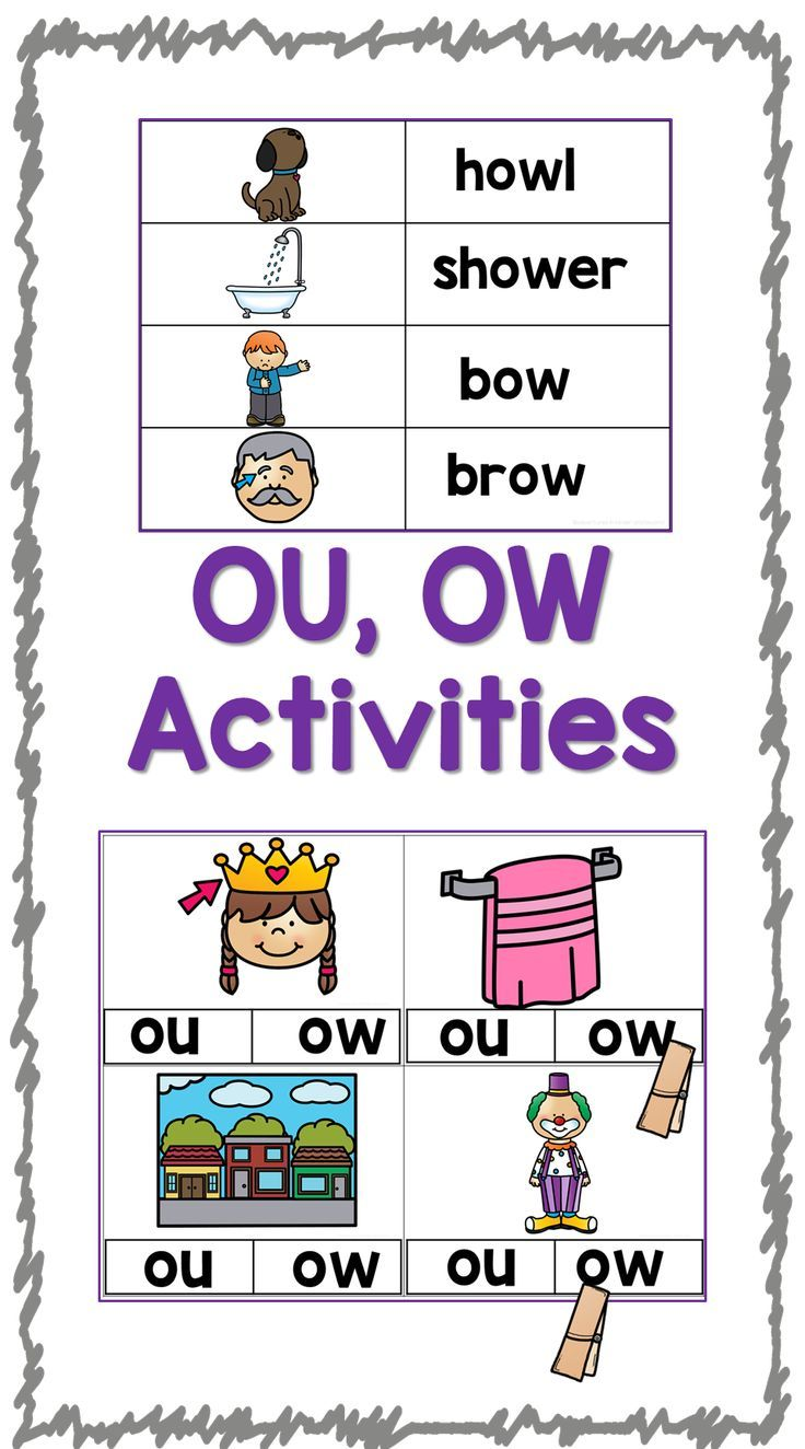 Have Fun Practicing The Ou Ow Sounds These Hands On Activities And Printables Will Engage Your Students Whil Classroom Adventure Diphthongs Holiday Worksheets [ 1324 x 736 Pixel ]