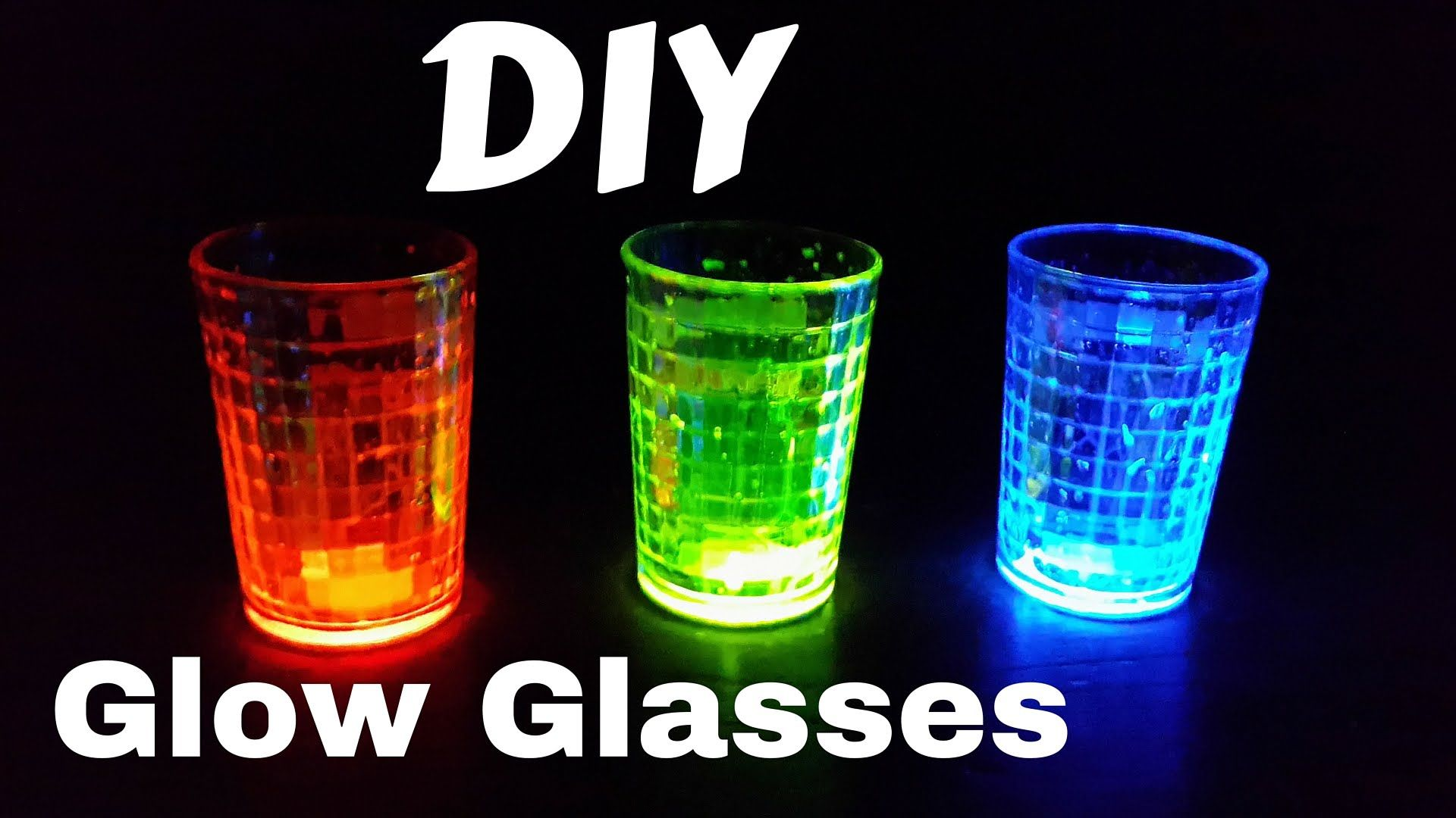 How to make glow sticks with your own hands 58