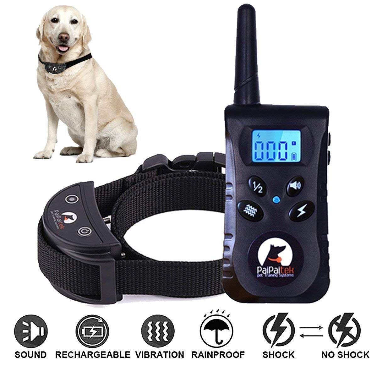 Dog Shock Collar Dog Training Collar Shock Collar Dogs Herqueen