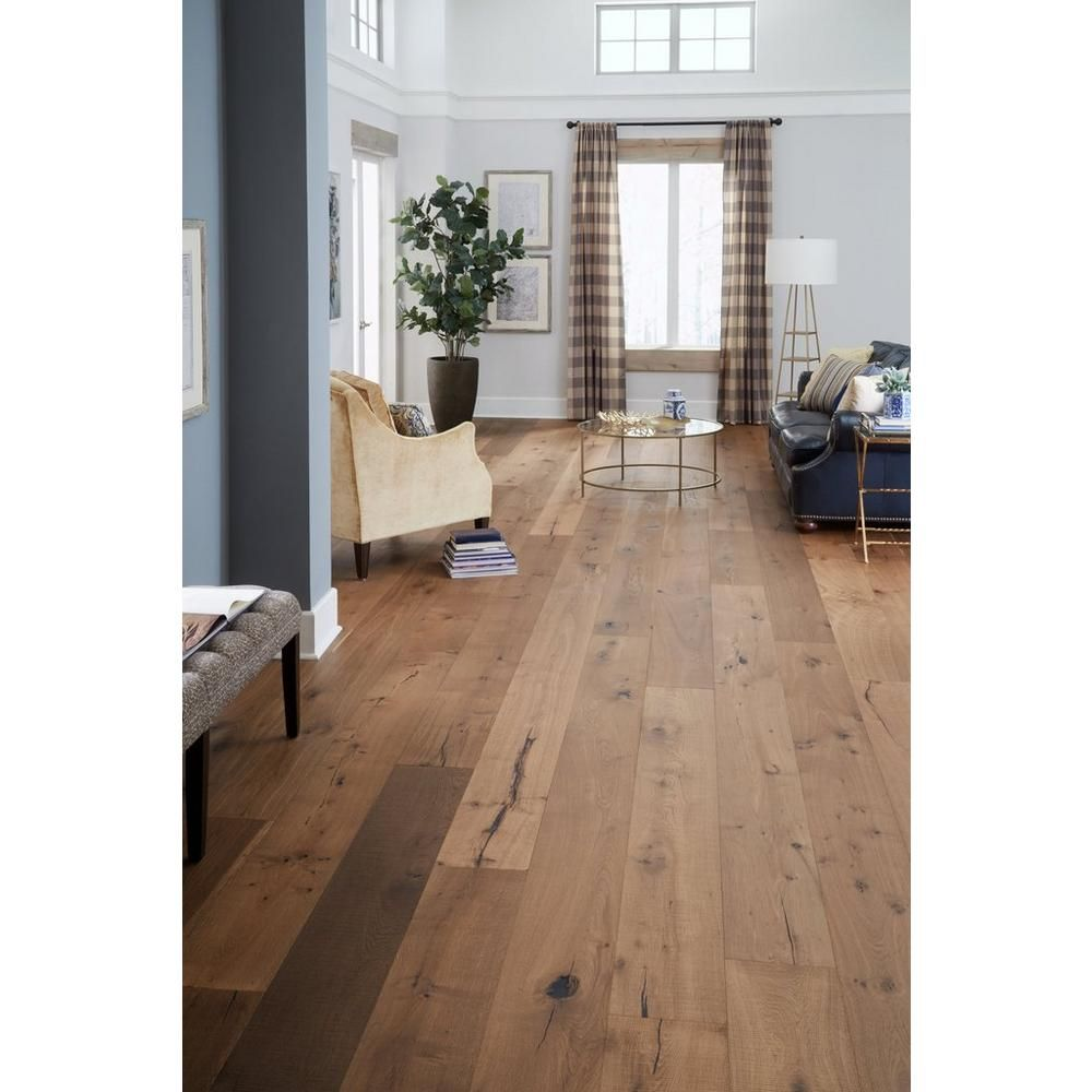 Mustang White Oak Distressed Engineered Hardwood Xl Plank White Oak Hardwood Floors Wood Floors Wide Plank Engineered Hardwood Flooring Wide Plank