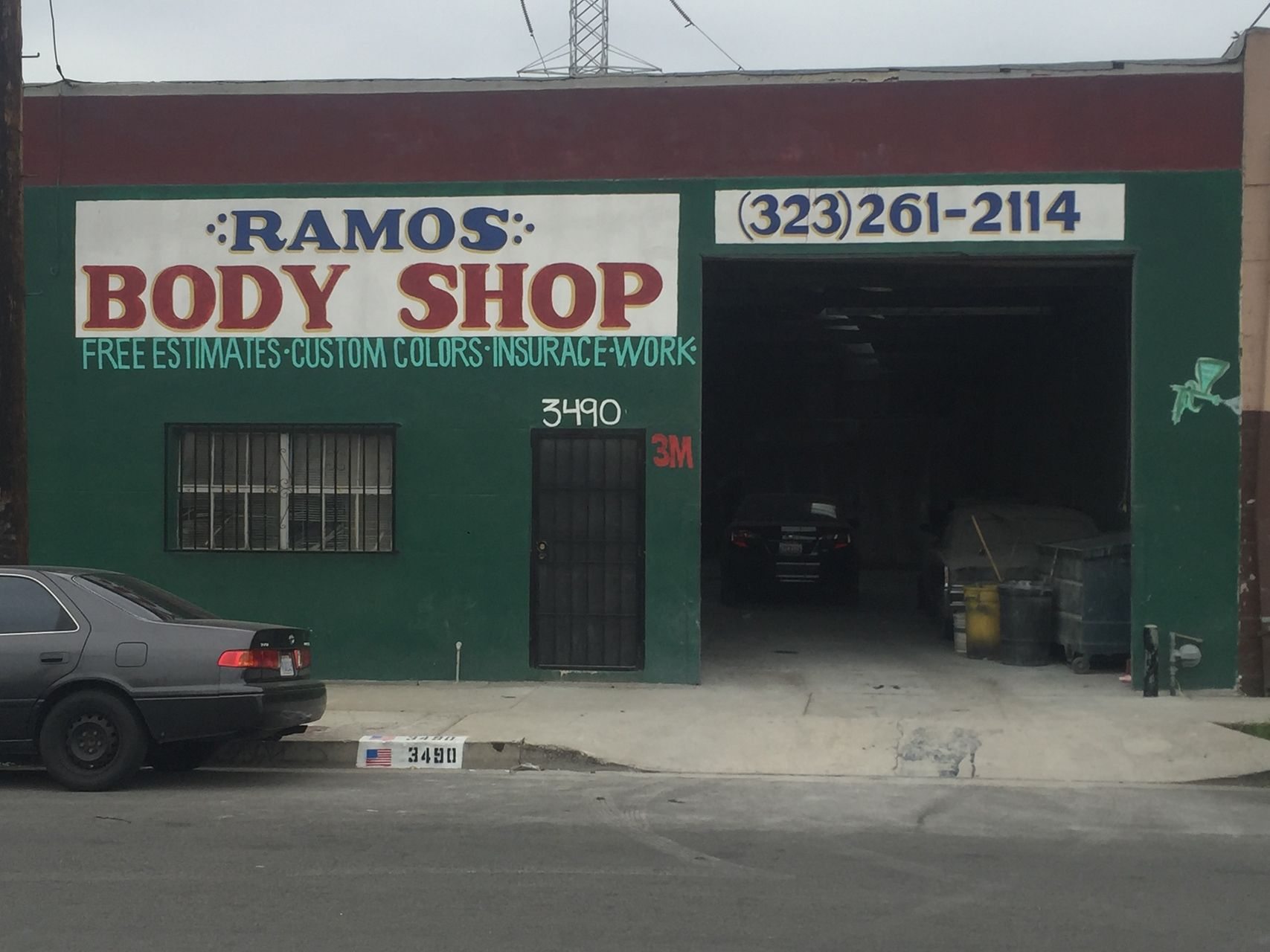 3490 Union Pacific Ave Los Angeles Ca 90023 Warehouse Property For Sale On Loopnet Com Auto Body Shop Los Angeles The Body Shop