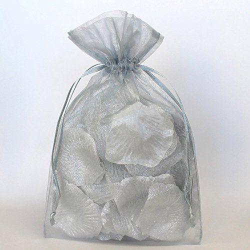 Organza Jewelry Bags Wedding Favor Bags 3 x 4 4 x 6 Organza Favor Bags 5 x 8 Sheer Favor Bags 6 x 9 100 Lavender Purple Organza Bags