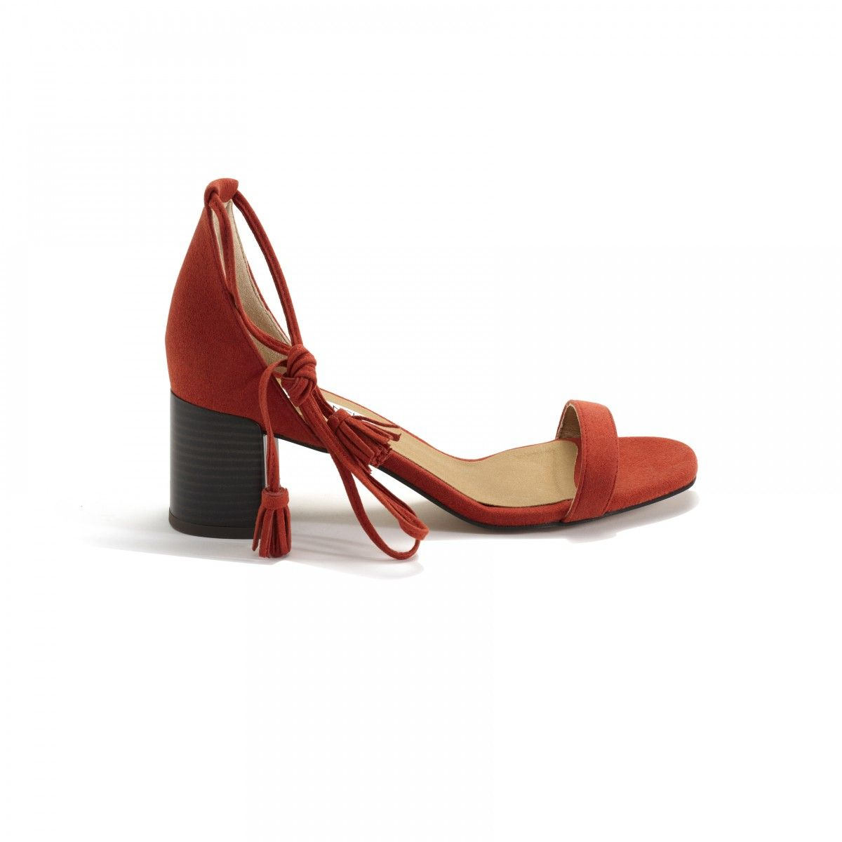 914a65edbf26 Cruelty free red sandals shoes - ByBlanch ethical shoe brand online ...
