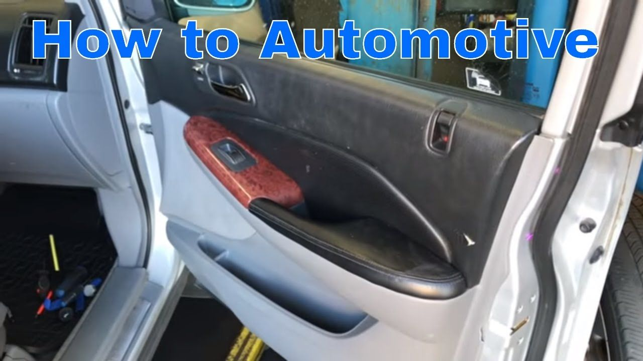 how to replace the front power door lock actuator on a 2000 2006