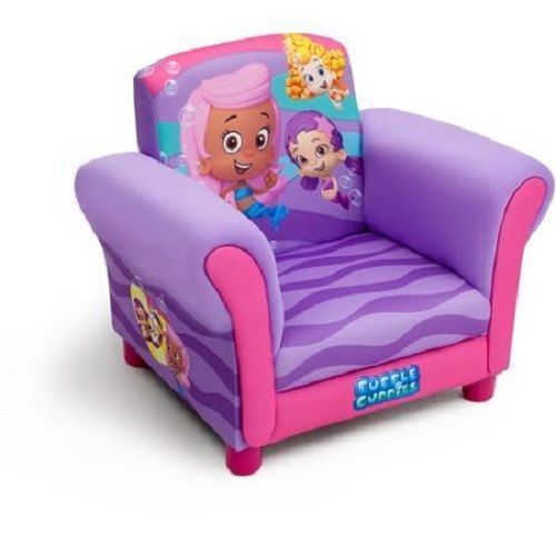 Nickelodeon Bubble Guppies Upholstered Chair Kids Bedroom Toddler Furniture  NEW #Nickelodeon