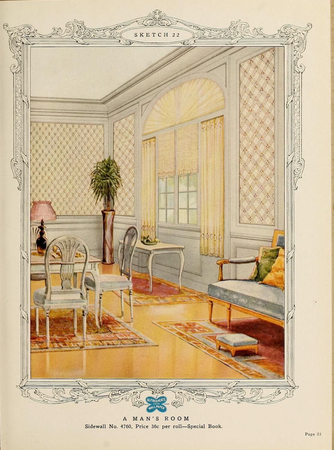 Home decoration, 1917 / Alfred Peats Co.